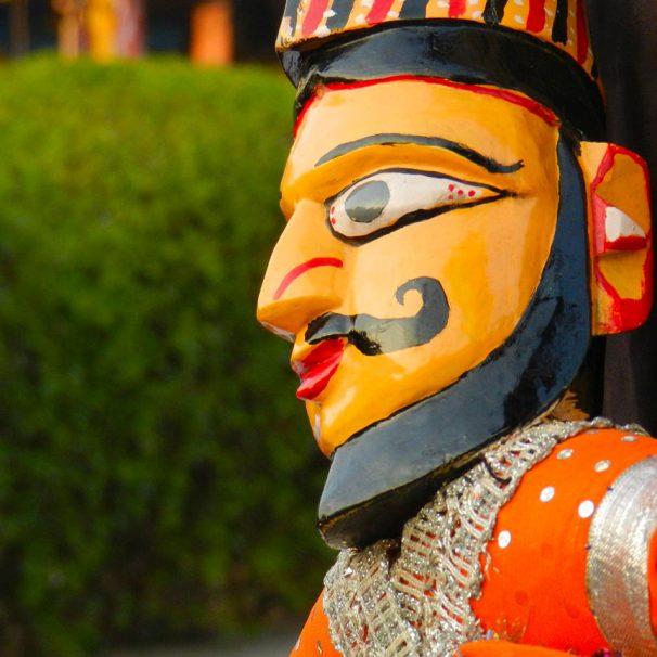 Marionnette en Asie